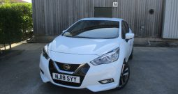 Nissan Micra 0.9 IG-Tekna S/S 5DR High Specification