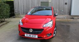 Vauxhall Corsa 1.4 Turbo (150) Red Edition 3Dr  Very Rare Immaculate