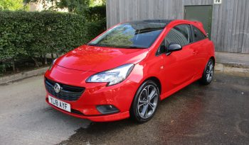 Vauxhall Corsa 1.4 Turbo (150) Red Edition 3Dr  Very Rare Immaculate full